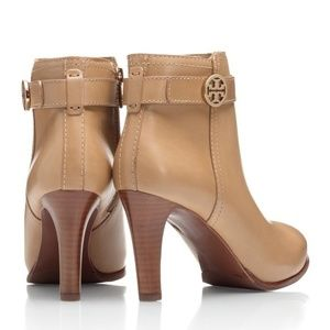 Tory Birch Bristol Booties in walnut